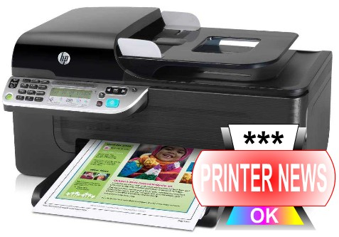 HP Officejet 4500 Printer Review